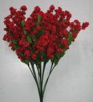 Rezgő 12 szálas piros