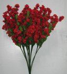 Rezgő 12 szálas piros (mű)