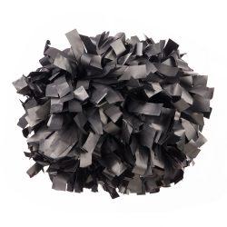 Plasztik pompom versenyzőknek fekete színben, középfogós