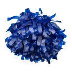 Plasztik pompom versenyzőknek kék színben, középfogós