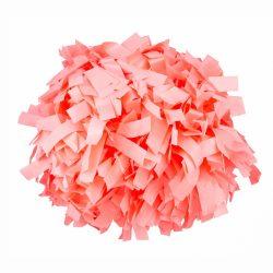 Plasztik pompom versenyzőknek rózsaszín színben, középfogós