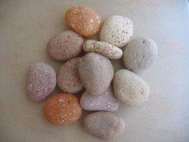 Mű kavics, kő csomag