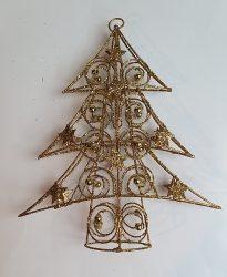 Karácsonyfa alakú csúcs dísz