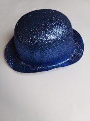 Keménykalap, csillámos kék