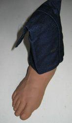 Mű láb dekoráció
